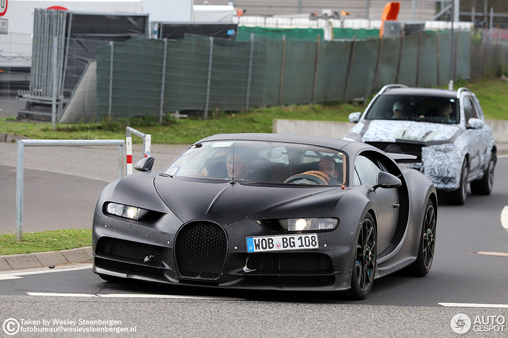 Gaat Bugatti voor een nog extremere Chiron?