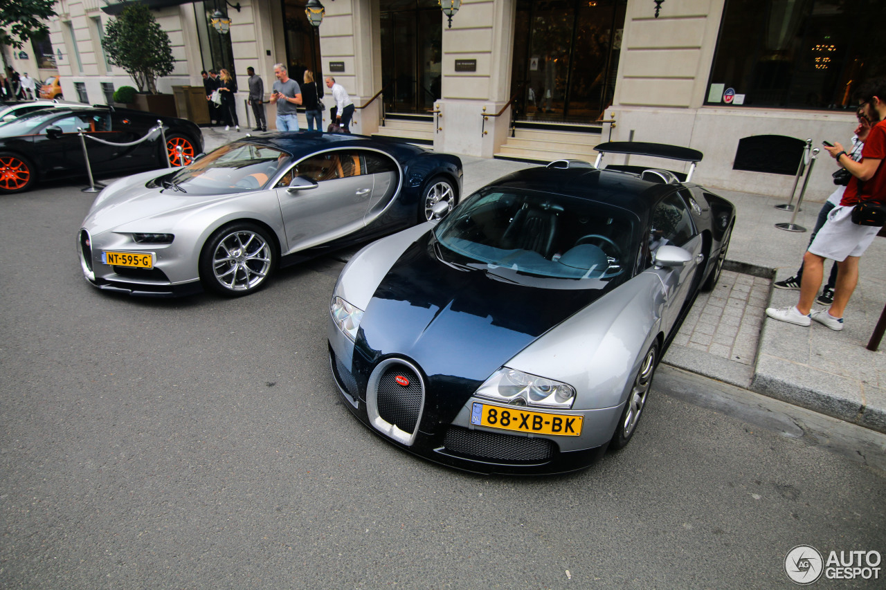 Nederlands Bugatti kwartet in Parijs gespot