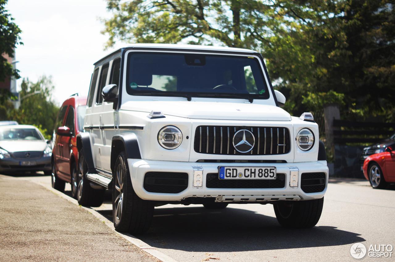 Lekker geparkeerd: Mercedes-AMG G 63 2018