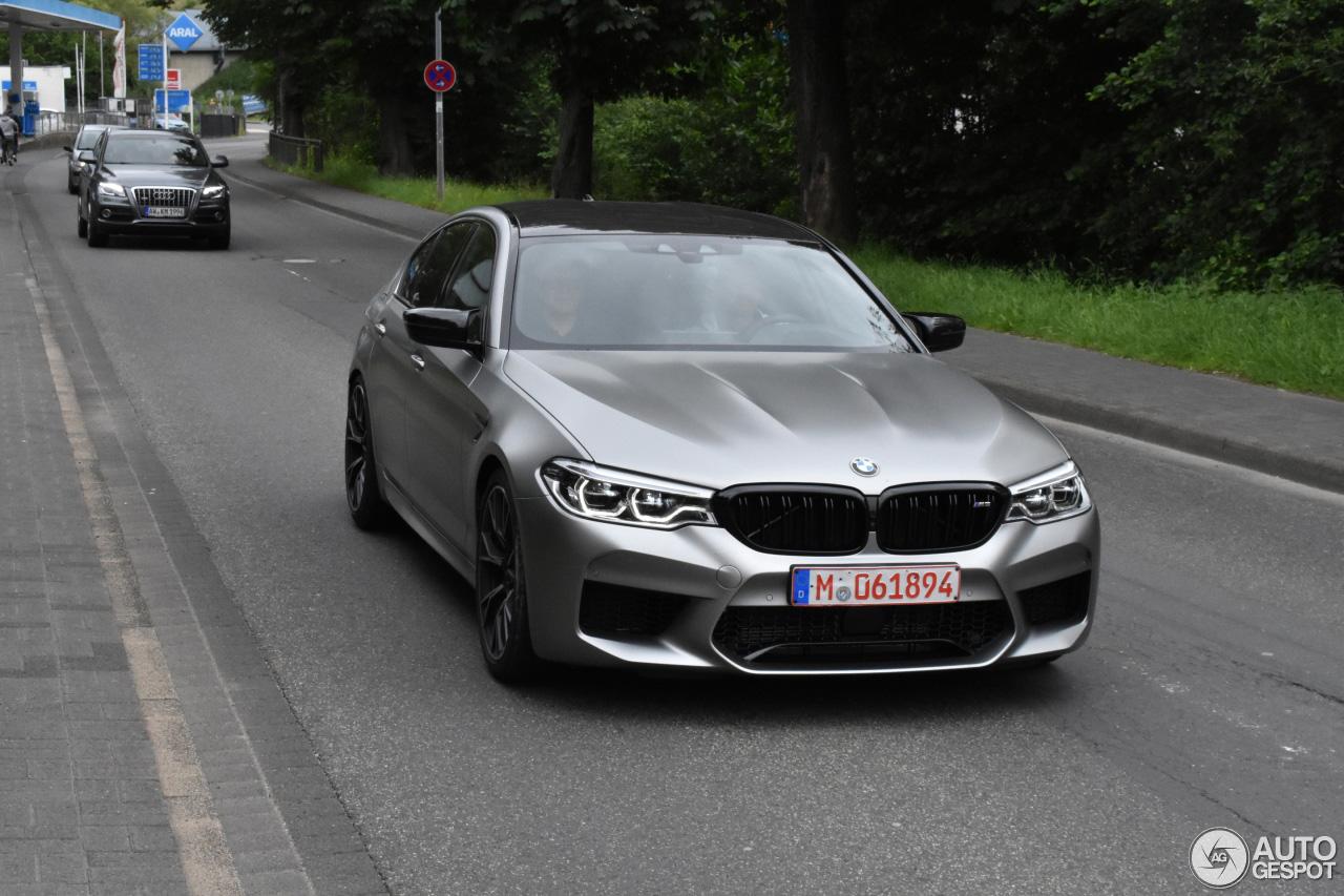 De eerste BMW M5 Competition is gespot