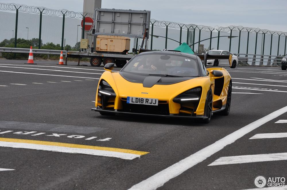 McLaren Senna eerde Le Mans ook met een bezoek