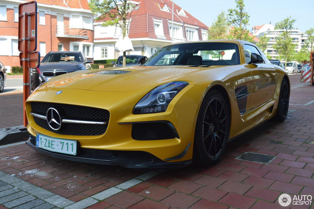 België wordt weer een SLS AMG Black Series rijker?