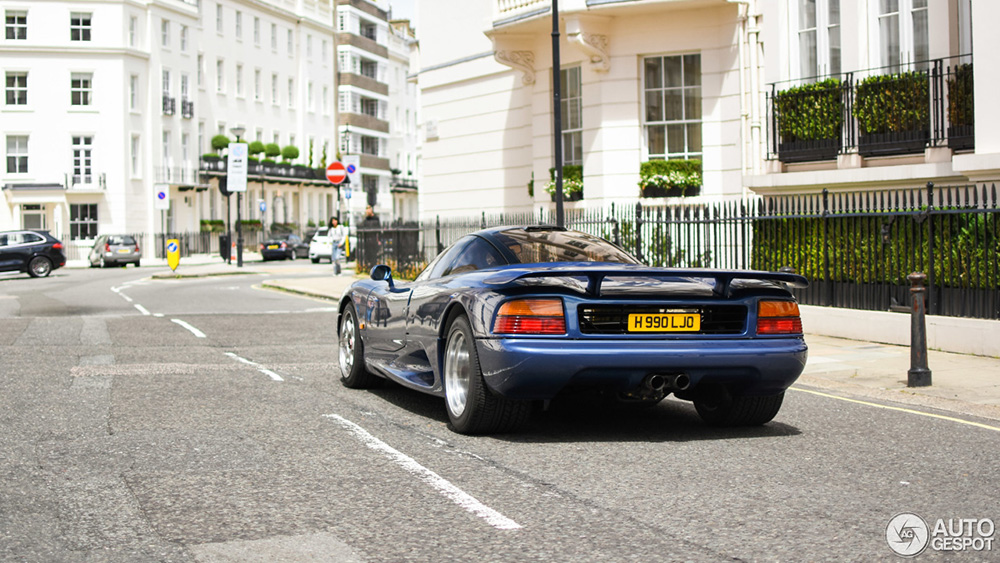 After almost 30 years, finally spotted! The Jaguar XJR-15
