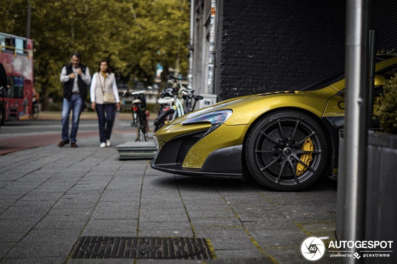 Spot van de dag: McLaren 675LT Spider!