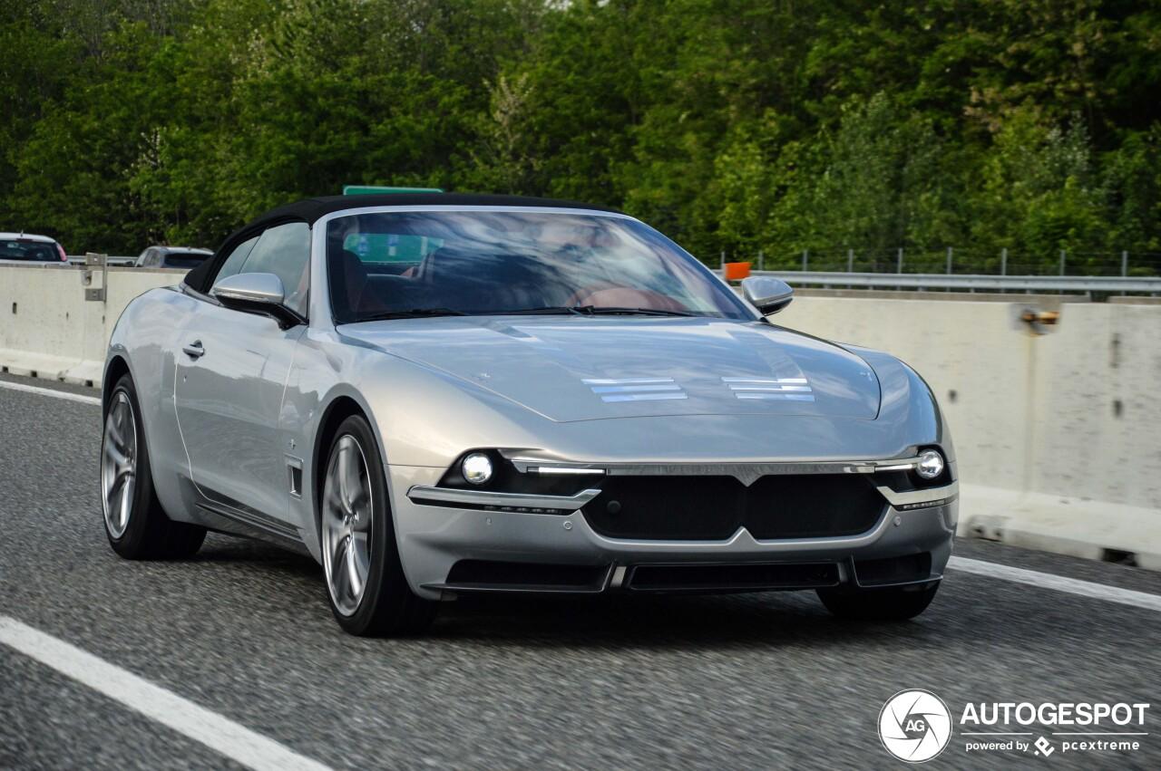 Zeldzaam: Maserati Sciàdipersia Cabriolet