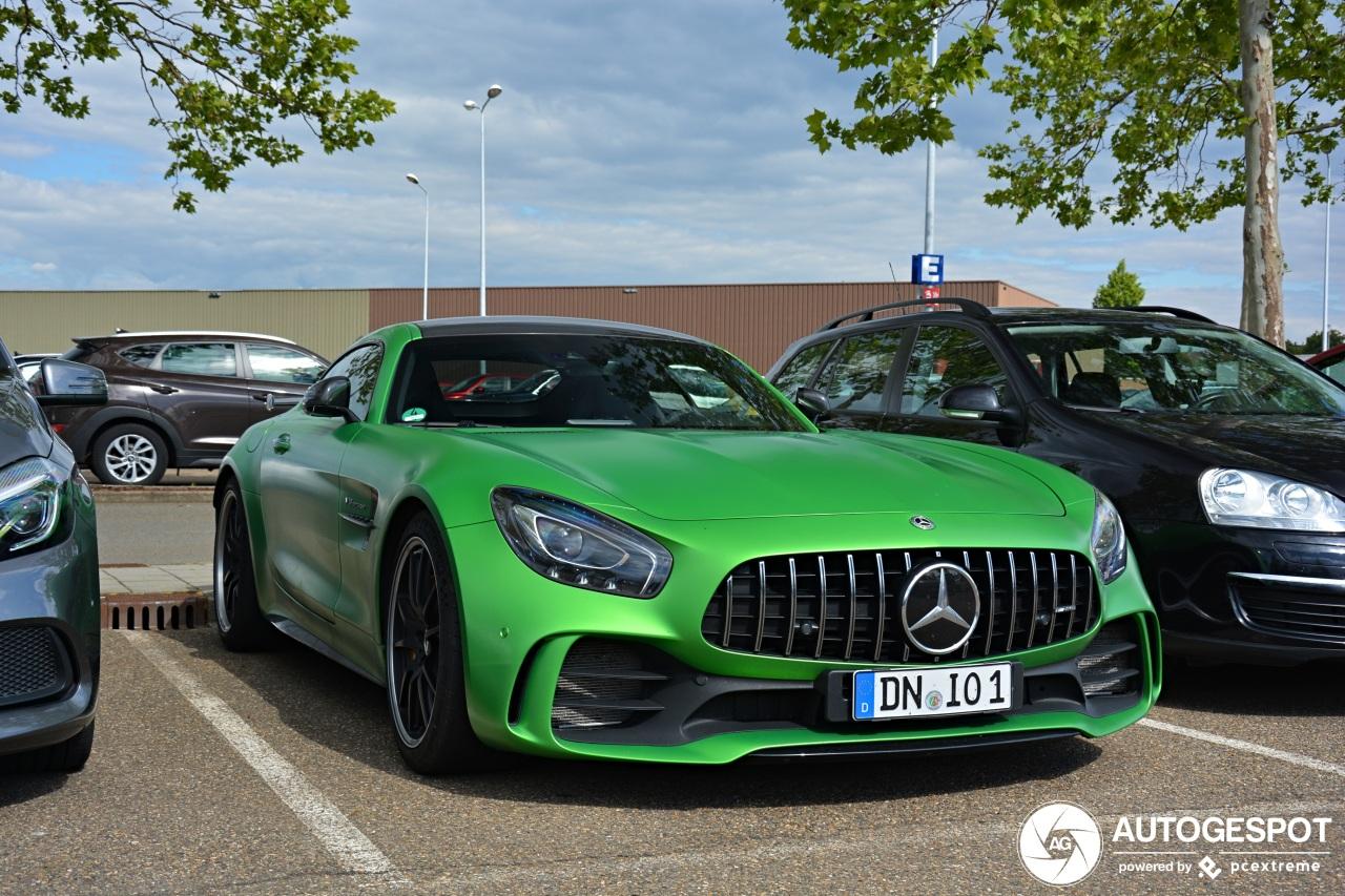 Spot van de dag: Mercedes-AMG GT R