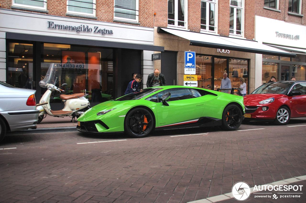 Spot van de dag: Lamborghini Huracán LP640-4 Performante