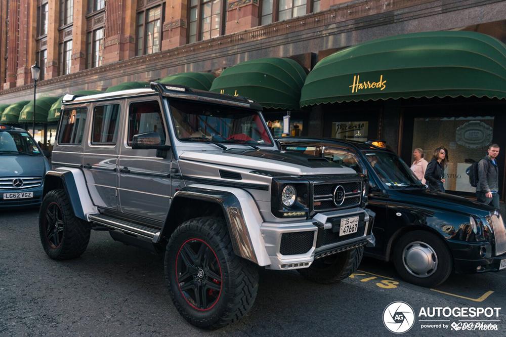 Mercedes-Benz G 500 wederom omgebouwd tot Brabus