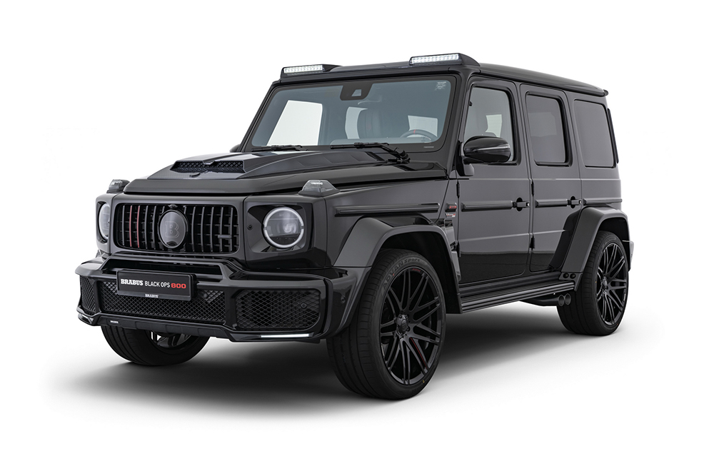 Brabus showed two new Limited Edition supercars this weekend