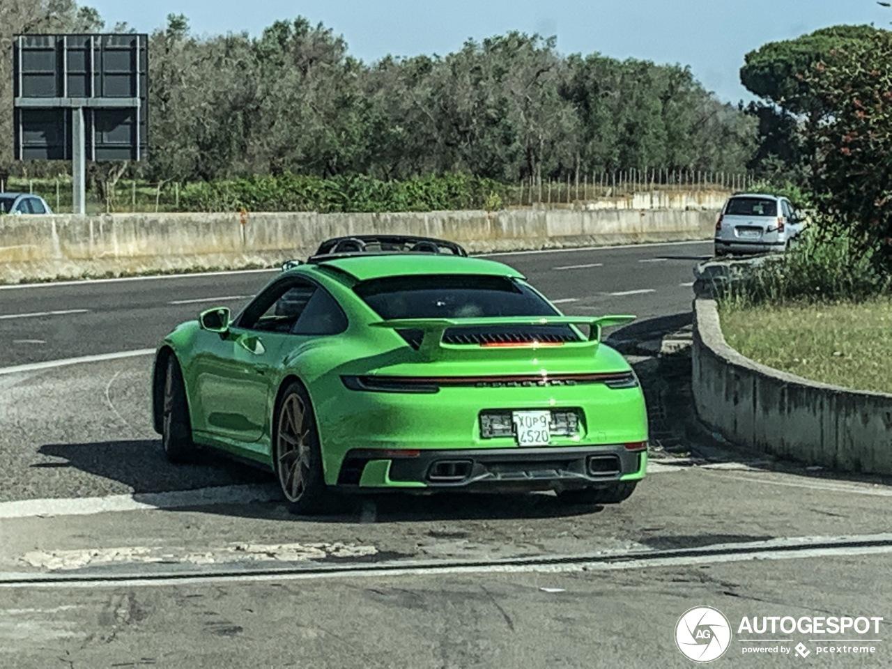Dit is de Porsche Carrera S met aeropack