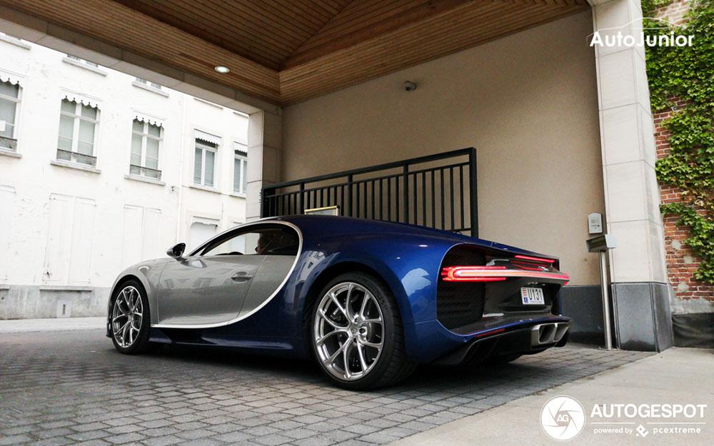 Bugatti Chiron ontloopt Top Marques Monaco in Brugge