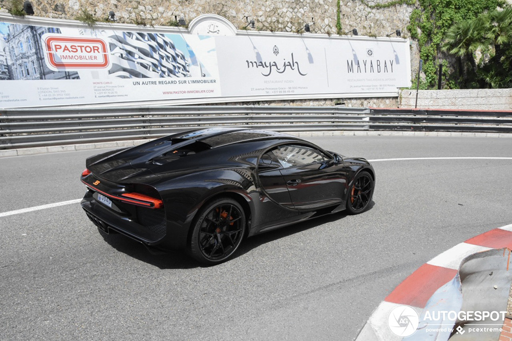Bugatti Chiron Sport vindt gretig aftrek