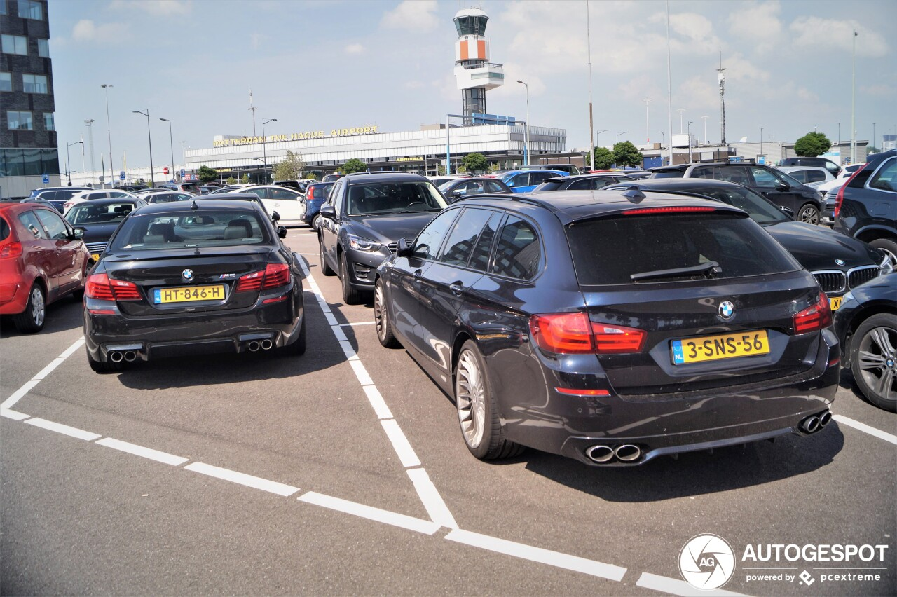 Kies jij de BMW M5 of de Alpina D5?
