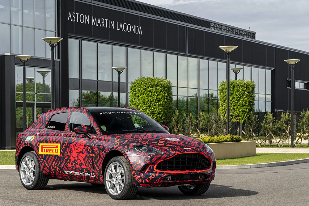 Aston Martin starts producing first cars in St Than