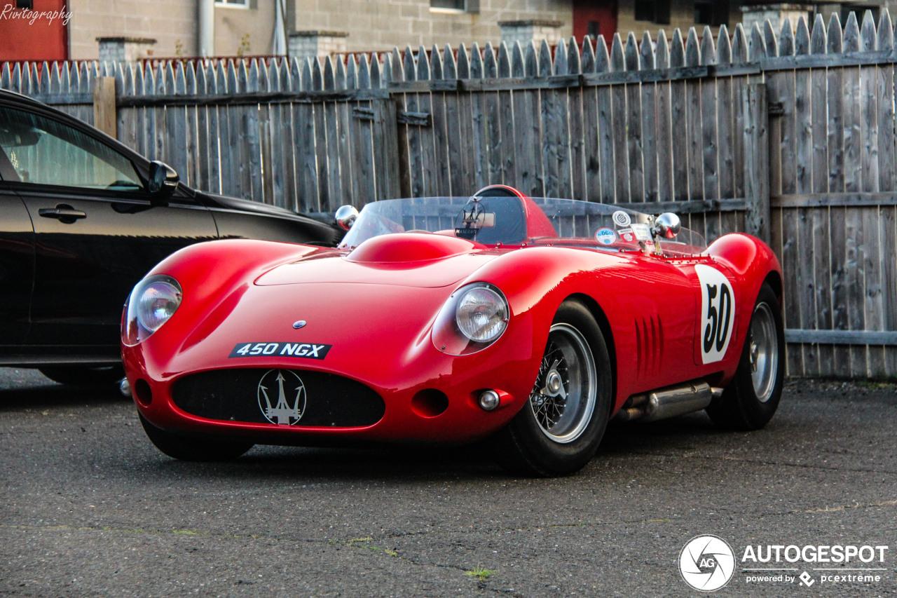 Maserati 450S is een waanzinnig plaatje