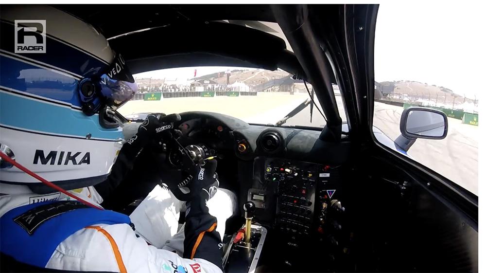 Filmpje: Mika Hakkinen in McLaren F1 op Laguna Seca