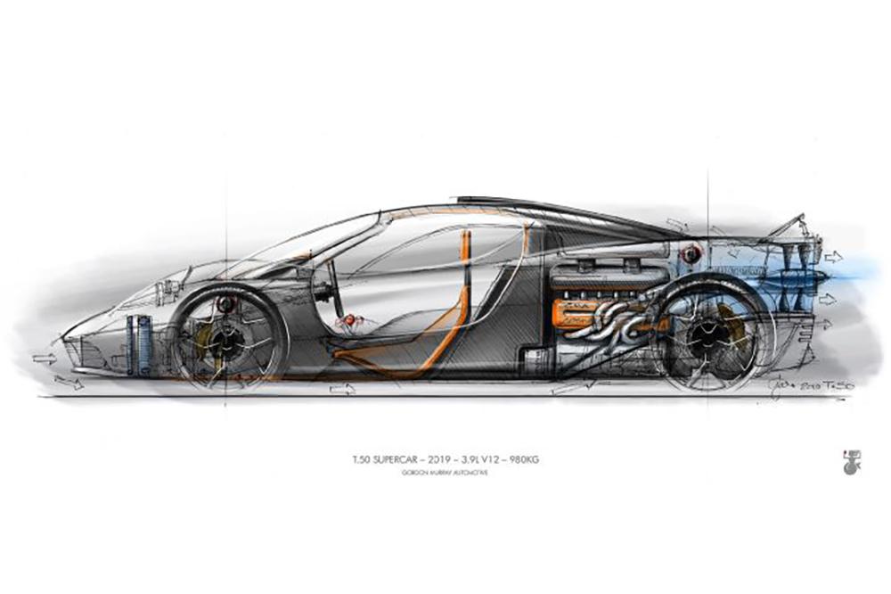 Gordon Murray werkt aan opvolger McLaren F1: T.50