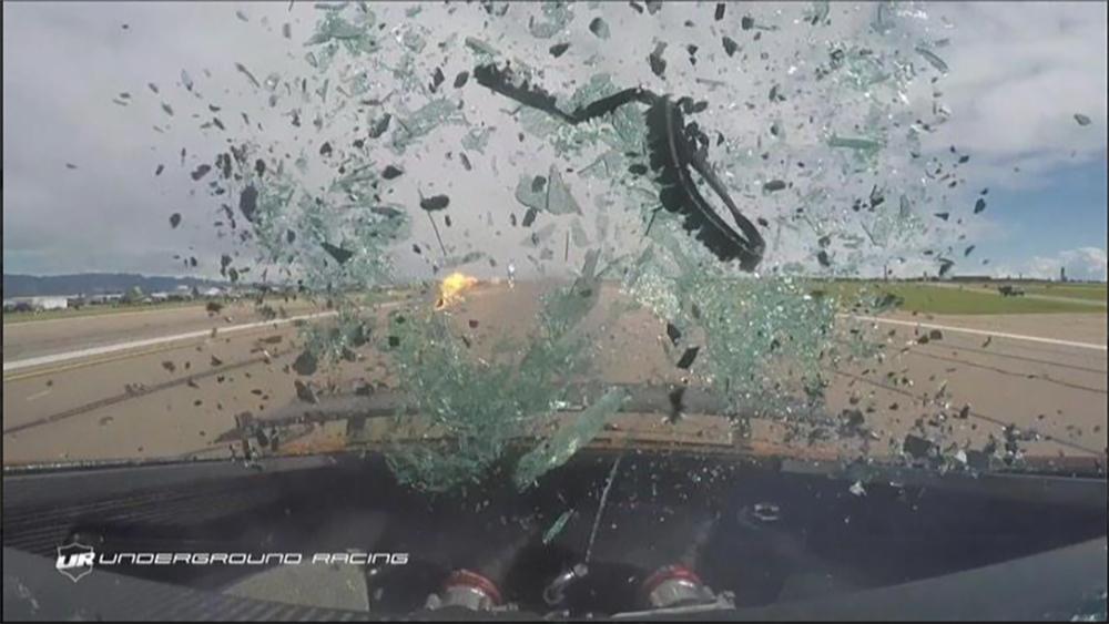 Filmpje: Audi R8 V10 Twin Turbo doet achterruit klappen