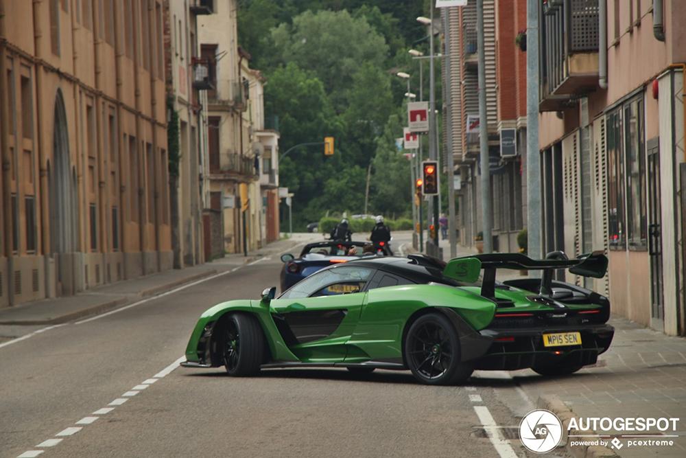 Groene McLaren Senna zal je nooit kwijt zijn
