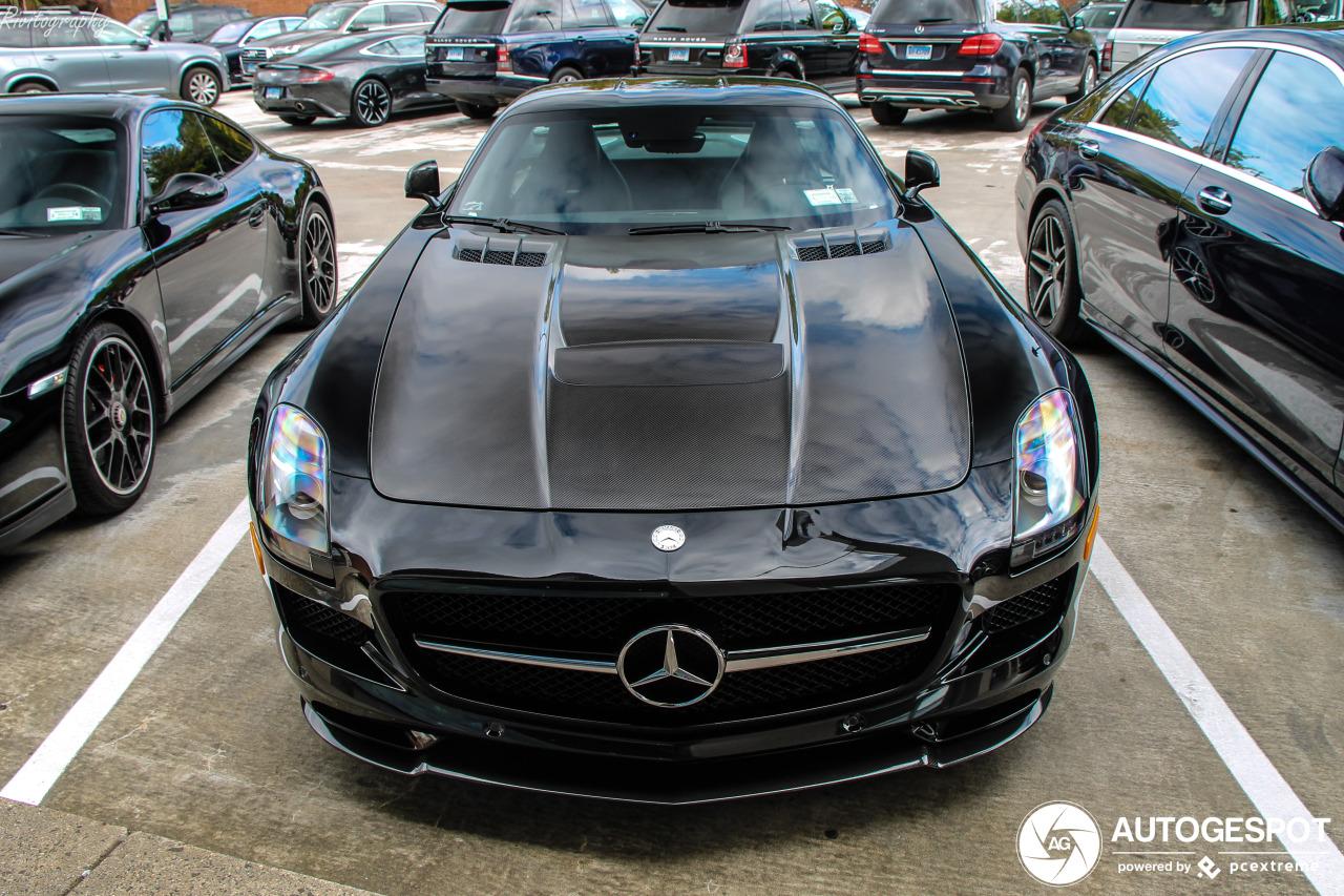 Goed in het zwart: Mercedes-Benz SLS AMG GT Final Edition