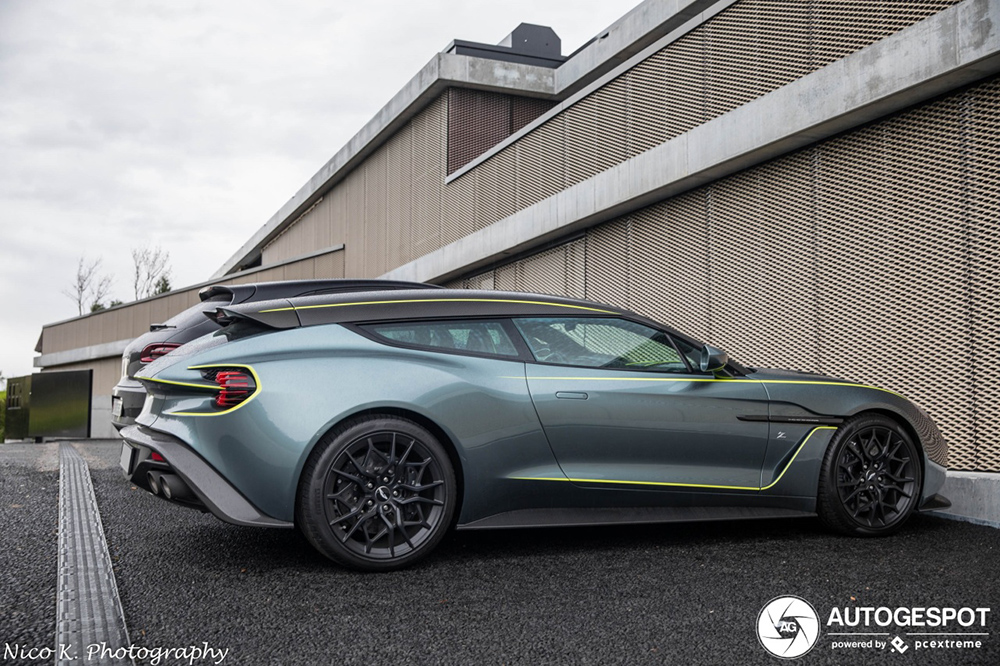 Beloofd is beloofd: Aston Martin Vanquish Zagato Shooting Brake