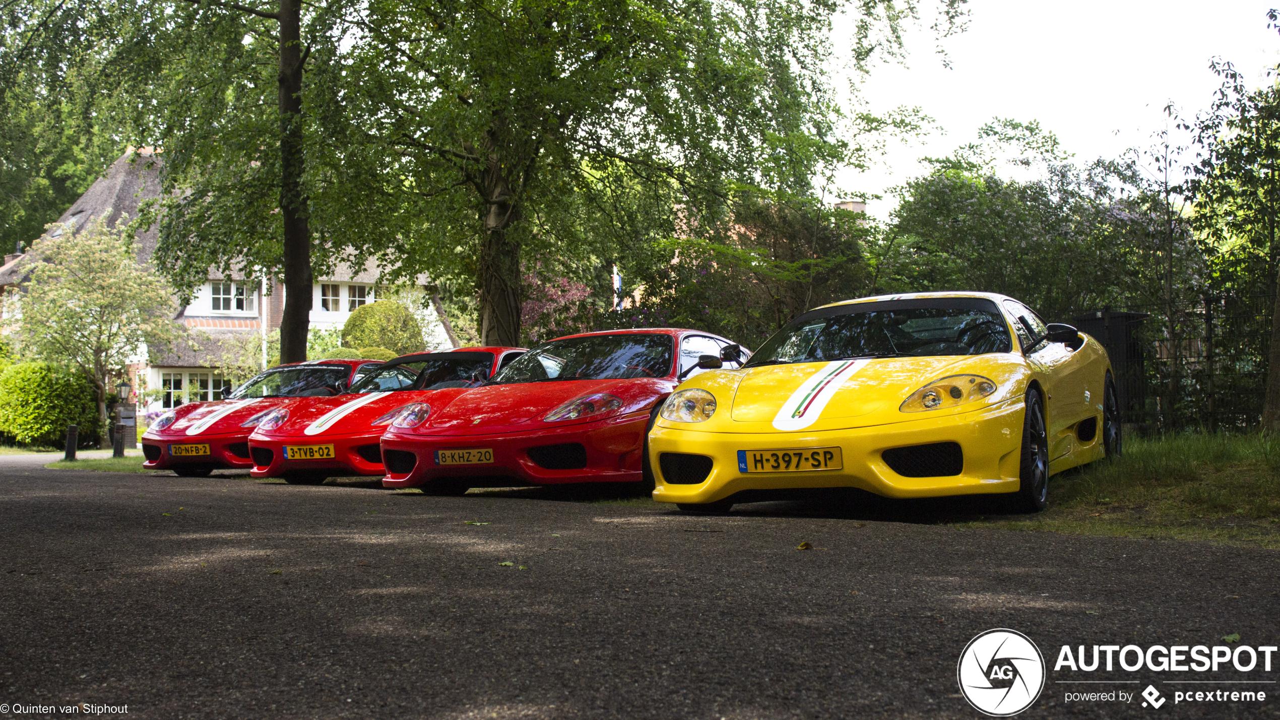 Spot van de dag: Ferrari Challenge Stradale combo!
