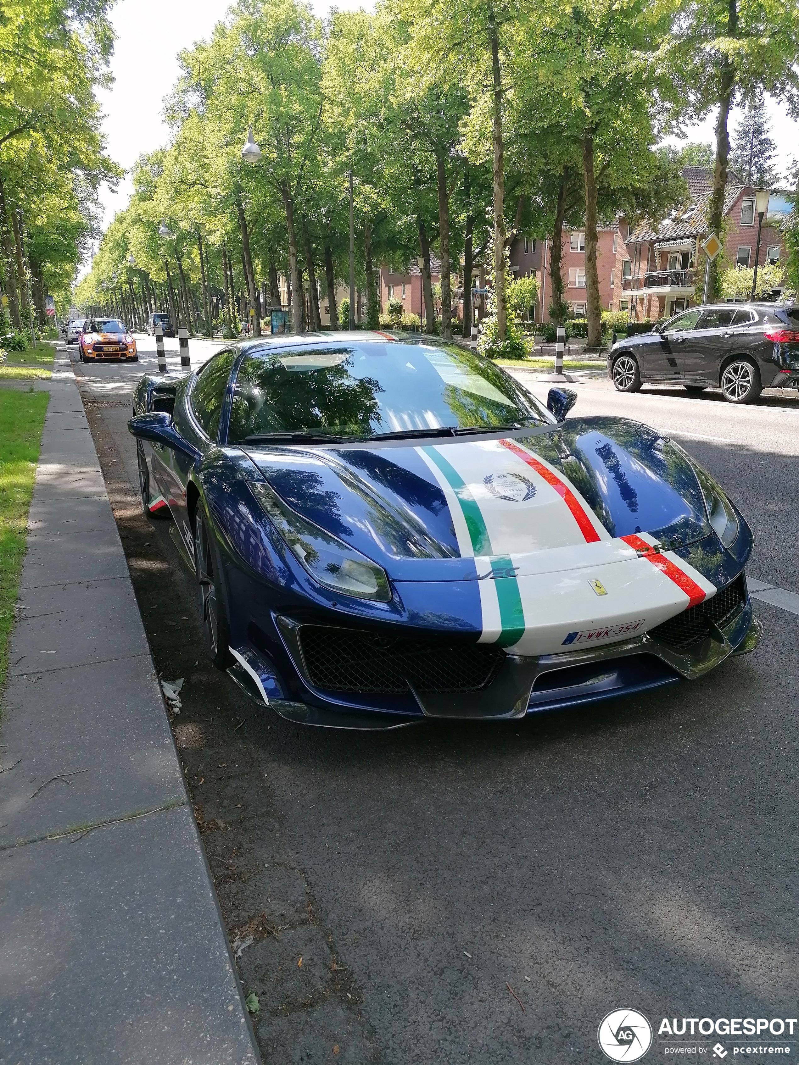 Spot van de dag: Ferrari 488 Pista Piloti