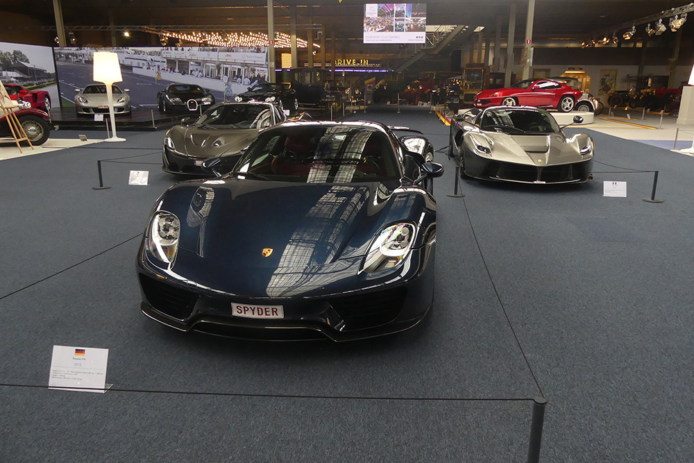 Event: Supercars in Autoworld Brussel