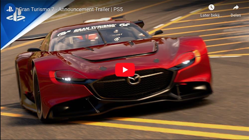Sony laat ons eerste beelden Gran Turismo 7 zien