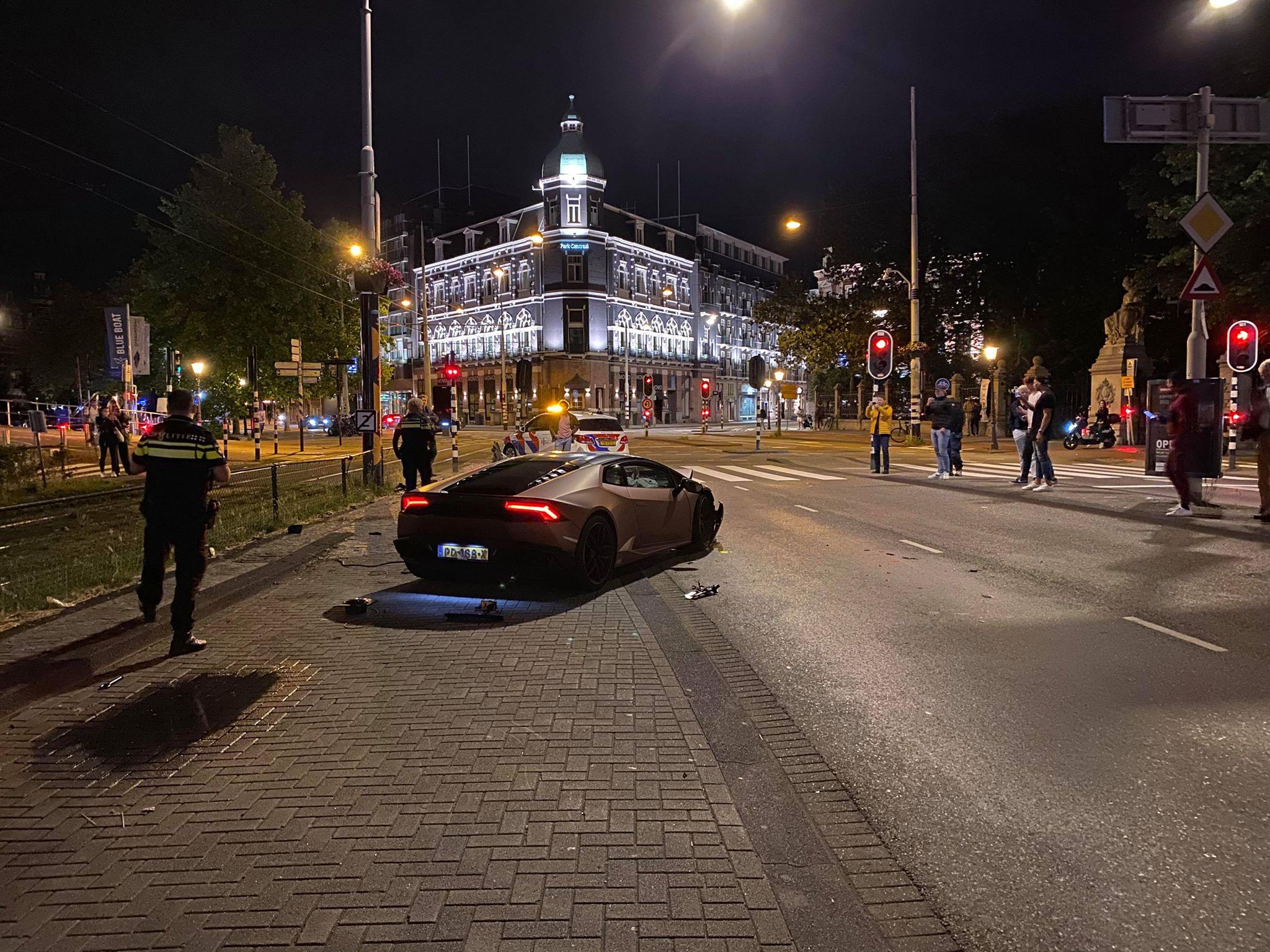 Dave Roelvink rijdt Lamborghini Huracán plat