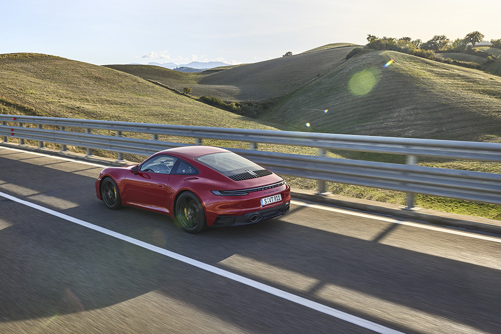 Porsche brengt de nieuwe 911 GTS op de wereld