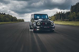 BRABUS 900 ROCKET EDITION: The new BRABUS limited-edition supercar based on the G 63