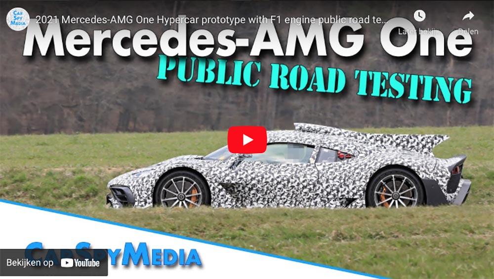 Filmpje: Mercedes-AMG Project One laat zich weer horen