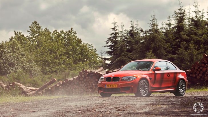 Wallpapers: BMW 1-Serie M Coupé