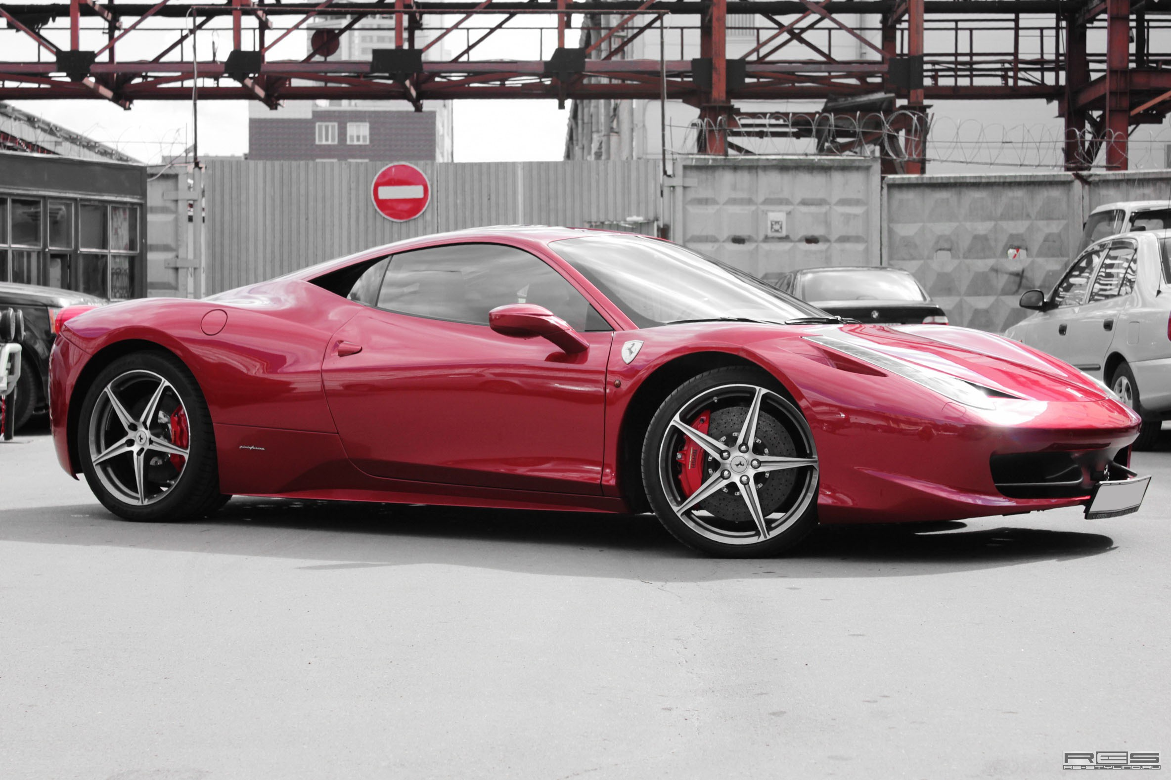 Made To Stand Out Red Chrome Ferrari 458 Italia