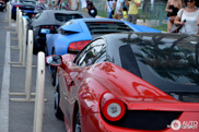Übercombo in Cannes: lots of Lamborghini's