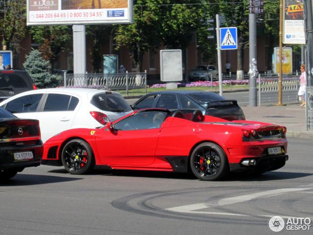 Gespot: Ferrari F430 Spider Super Veloce Racing