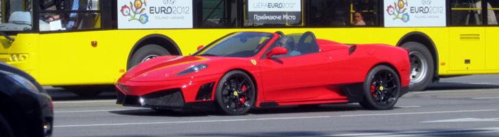 Spotted: Ferrari F430 Spider Super Veloce Racing