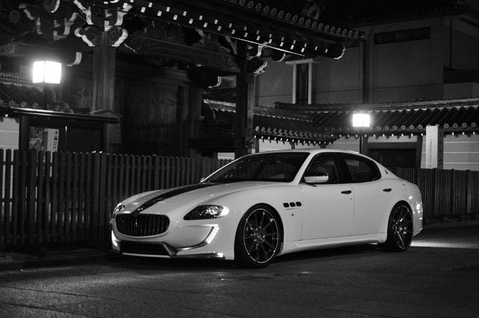 Chique Maserati Quattroporte Fairy Design Bodykit