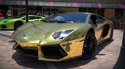 Une Lamborghini Aventador LP700-4 dorée, ça en jette plus qu'une bague en or