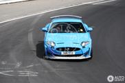 More aggresive? Jaguar XKR-S Track Pack?