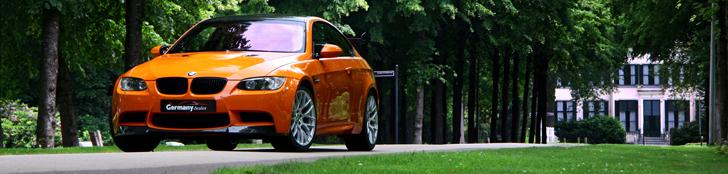 Report: BMW M3 in the colour Feuer Orange
