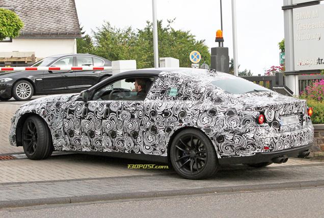 Testen van de BMW M4 Coupé is gestart!