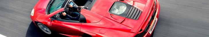 Ready for summer! McLaren MP4-12C Spider