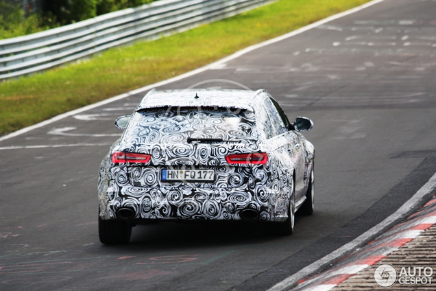 Spyspot: Audi RS6 Avant C7
