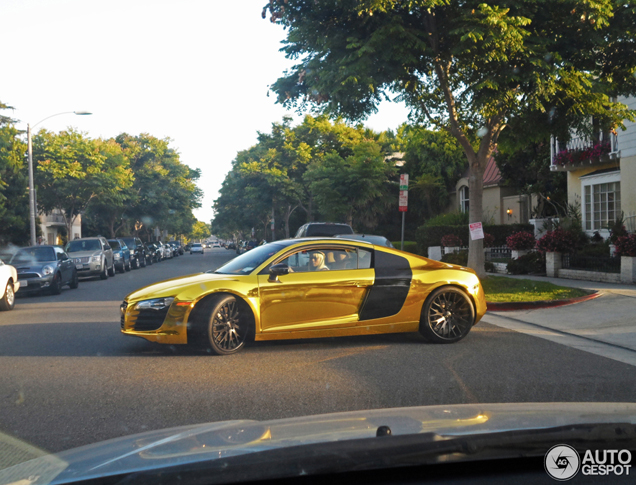 Gespot: de opvallende Audi van rapper Tyga