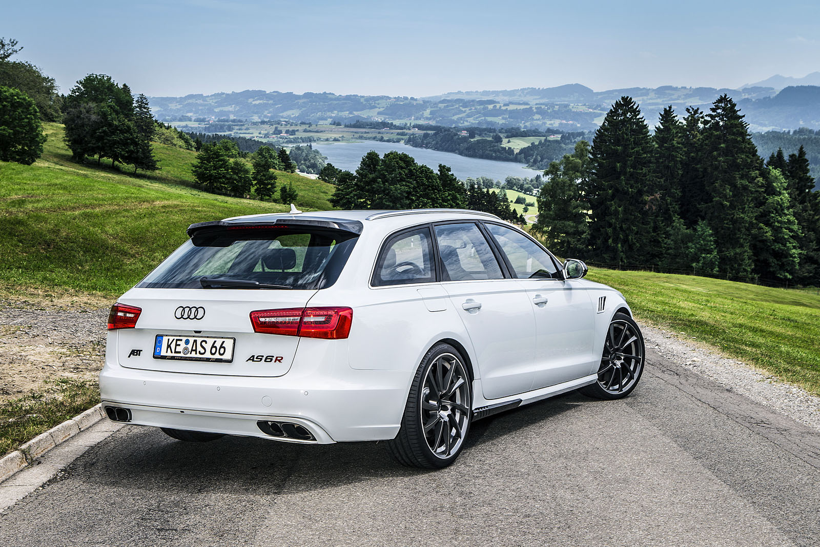 Abt As6 R More Powerful Than The Audi Rs6 Avant C7