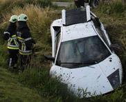 Lamborghini Murciélago LP640 accidentat langa Oostende
