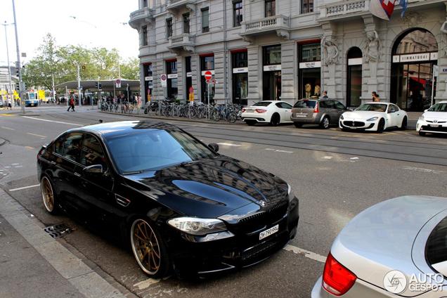 Ongekend Velgen maken deze BMW M5 F10 LB-29