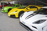 Goodwood 2013: Michelin Supercar Run